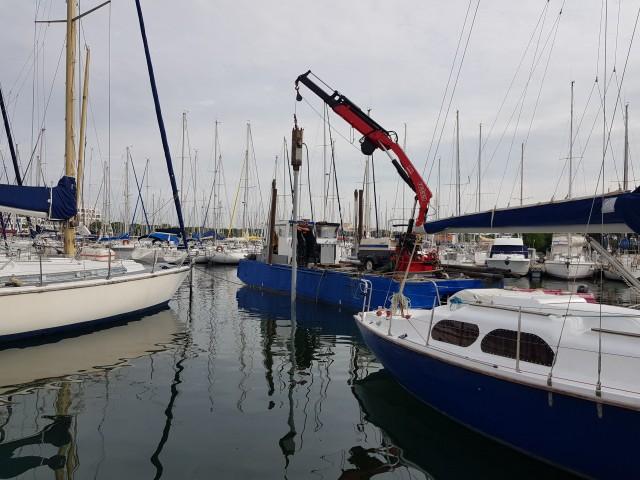 Travaux portuaires